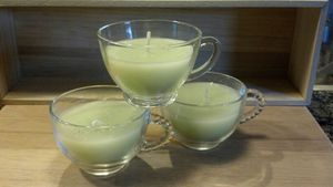 Hancrafted tea cup candles for Sale in Lake Stevens, WA
