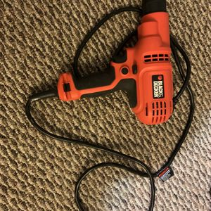Black And Decker Power Drill (Chord) 5.2 Amp for Sale in Camp Springs, MD