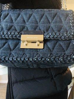 Michael Kors Denim Purse for Sale in Columbus,  GA