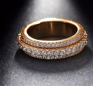 ❤SALE❤❤18K Yellow Gold Filled Lab Diamond Rotating Ring Size 7,8,9 for Sale in Aspen Hill, MD