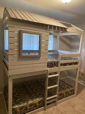 Twin tree house bed for Sale in Milwaukee, WI