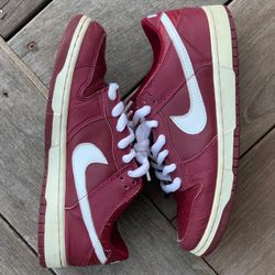 Nike Dunk Low Pro B 3M Team Red Burgundy '01 Size 7.5 for Sale in New York,  NY