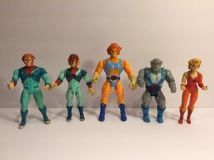 5 Action Figure Thundercats Lot - Vintage LJN Toys for Sale in Naperville, IL