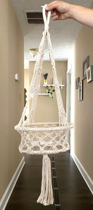 Macrame Plant Holder for Sale in Lawrenceville, GA