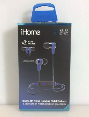 NEW iHome iB39 iB39LC Earset - Wireless Bluetooth 30 ft Earbud Echo Cancelling for Sale in Glenview, IL