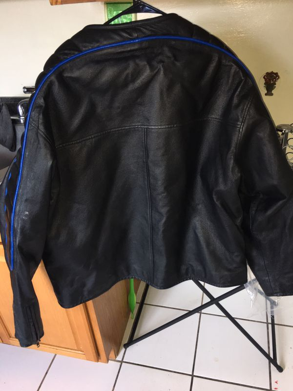 Genuine leather 2xl motorcycle jacket in great condition