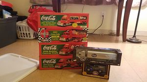 Coca cola and Kroger collectable toy trucks for Sale in Columbus, OH