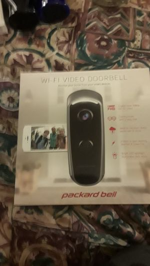 Wi-Fi Video Doorbell (Packard Bell.) for Sale in Lakewood, WA