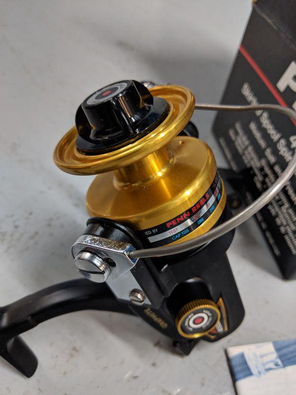 New Penn 4500 SS Spinning Reel. Ready for fishing.