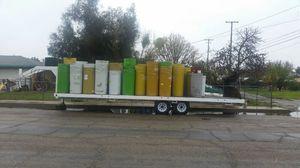 55gal metal barrels food grade for Sale in Sanger, CA