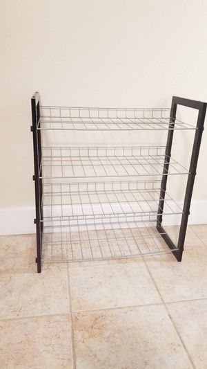 Small metal stand - 4 shelves for Sale in Issaquah, WA