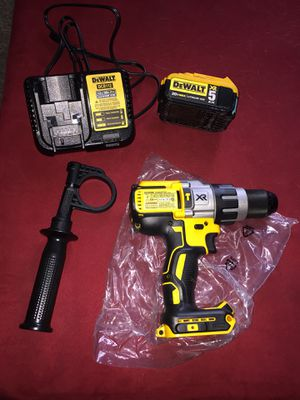 Drill hammer and charger and battery brand new for Sale in Orlando, FL