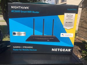 Netgear Nighthawk AC2600 Smart WiFi router for Sale in Humble, TX