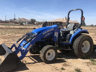 2018 New Holland Tractor for Sale in Hesperia,  CA