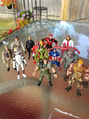 Star Wars action figures mixed lot 6 for Sale in Toledo, OH
