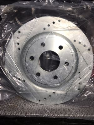 Nissan Frontier 2007 - 2015 Drilled And Slotted Front Break Rotors for Sale in San Diego, CA