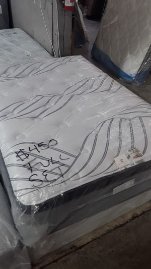 """NEW FULL SIZE SERTA PERFECT SLEEPER """"DAYLA"""" PILLOW TOP MATTRESS SET for Sale in Gresham, OR"""