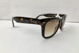New folding ray ban tortoise sunglasses men's or women's for Sale in Santa Monica, CA