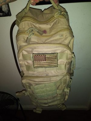 army backpack with hydration blatter for Sale in Simi Valley, CA