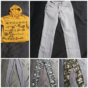 Women's clothing size S & jeans size 1 $20 for all for Sale in Gilbert, AZ