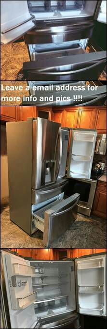 Leαve y0ur e-mαil for more info: LG French Door Refrigerator for Sale in Sioux Falls, SD
