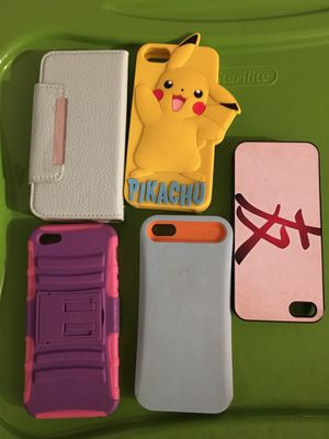 Cases for iPhone 5 for Sale in Fontana, CA