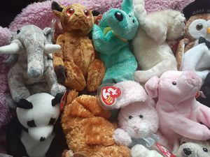 Animal Beanie Babies for Sale in CARNES CROSSROADS, SC