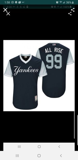 YANKEES ARRON JUDGE JERSEY SIZE XL N 2XL 100% STITCHED for Sale in Colton, CA