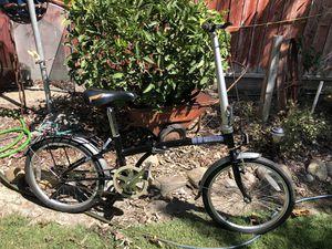 Dahon Boardwalk Folding Bike / Obsidian for Sale in Manteca, CA