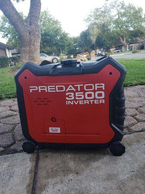 PREDATOR 3500 Watt Super Quiet Inverter Generator for Sale in San Antonio, TX