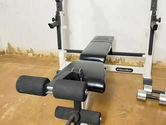 Nautilus NT 1400 Combo Bench Press With Self Spotters for Sale in Dallas,  TX