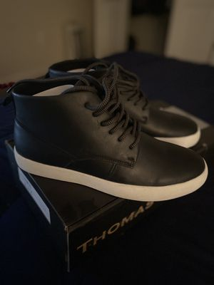 Thomas & Vine Men's Damon, Black Leather, Size 11 for Sale in Rockville, MD