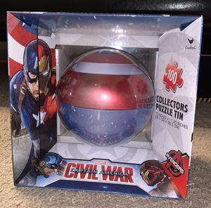 Marvel Civil war Captain America puzzle for Sale in Houston, TX