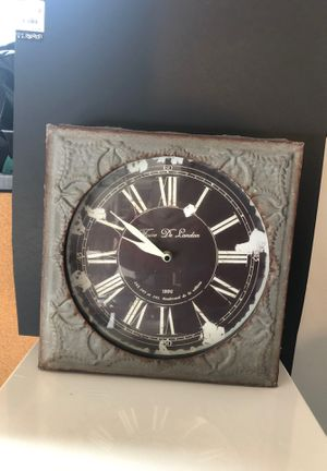 Antique metal clock for Sale in San Diego, CA