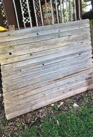 Free fence section for Sale in San Antonio, TX