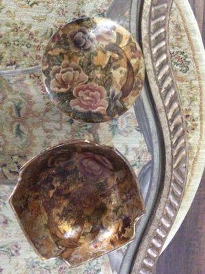 Gold flower bowls for Sale in Miramar, FL