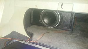 10 inch w7 Jl Audio With super bass pro box for Sale in Lithonia, GA