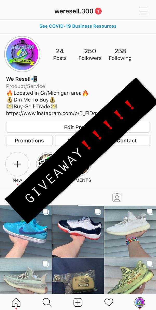 FREE GIVEAWAY FOR MY RESELL PAGE