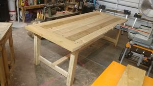 Farmhouse dining table for Sale in Salem, UT