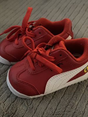 Baby puma shoes size 3 for Sale in El Cajon, CA
