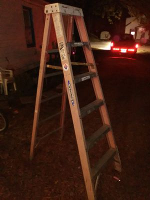 6ft Werner ladder for Sale in Evansville, IN