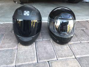 2 motorcycle helmets for Sale in Las Vegas, NV