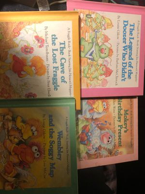 12 books fraggle rock and the Berenstain bears for Sale in Appleton, WI