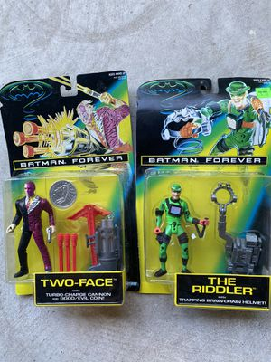 Batman Forever Action Figures for Sale in Buda, TX