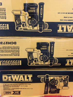 """Dewalt new rotary hammer 1"""" Xr $220 each one for Sale in Los Angeles, CA"""
