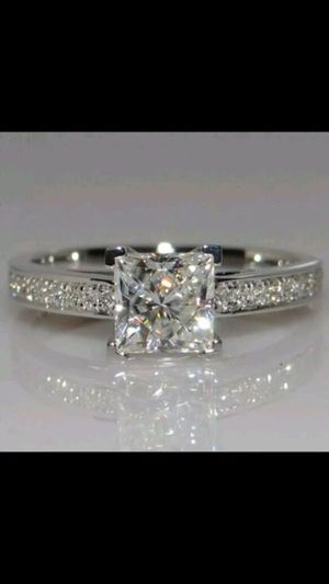 .72ct stimulates diamond gold plated wedding engagement ring women's jewelry accessory for Sale in Silver Spring, MD