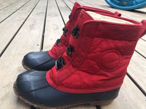 ROFFE DUCK Women's Red Fabric & Rubber Snow Boots for Sale in Covington, WA