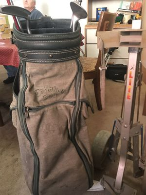 Golf bag / clubs / carry cart for Sale in Pittsburgh, PA