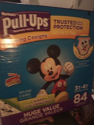 Huggies pull ups 3t 4t 84 Dippers for Sale in Long Beach, CA