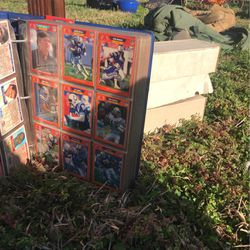 Football card collecting binder and three boxes of 250 cards each for Sale in Winder,  GA